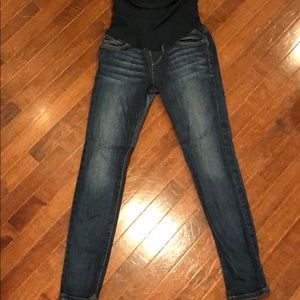 Joe's The Icon ankle maternity jeans